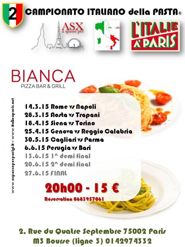 flyer campionato italiano della pasta 2015_Paris