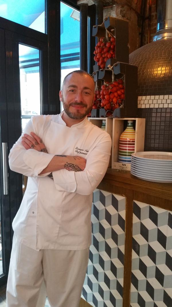 Gennaro Nasti chez Popine, ph Sara Rania