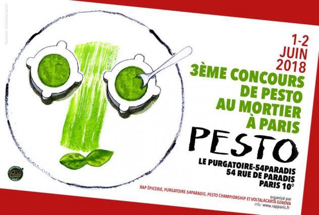 Concours de Pesto au Mortier à Paris